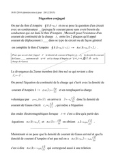 equation conjugue des ondes