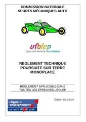 reglement mono 2015 2016