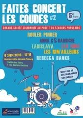 flyer a5 concert les coudes