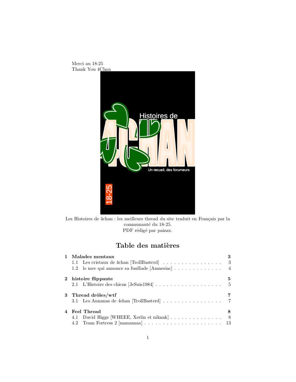 Les histoires de 4chan par paizax - Fichier PDF