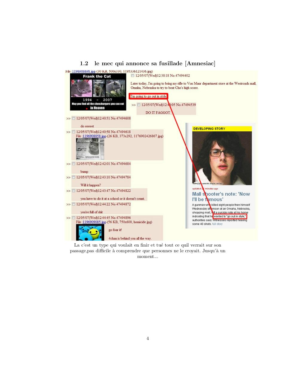 4chan histoires de rencontres raichur datant