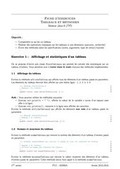 java06 tableaux et methodes