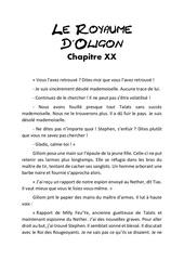 le royaume d oligon chapitre 20