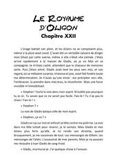 le royaume d oligon chapitre 22