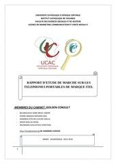 Fichier PDF etude de marche telephones itel