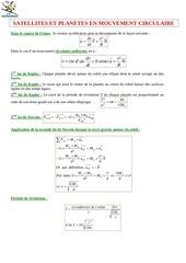Fichier PDF planetes mouvement circulaire uniforme