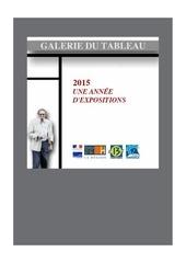 catalogue 2015 galerie du tableau 1