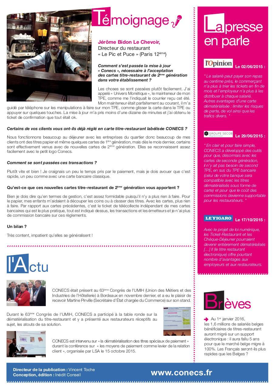 Newsletter4rv 210x297mm Indd Par Geraldinearnaud Newsletter N 4