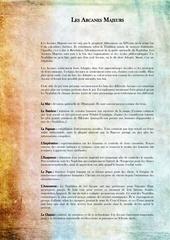 Fichier PDF arcanes