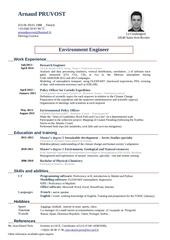 Fichier PDF cv arnaud pruvost 1