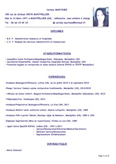 Fichier PDF cv corinne martinez