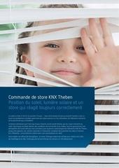 knx brochure commande de store