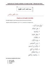16 chapitre sur al haydh et nif s