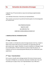 Fichier PDF extraction du limonene