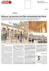article ouest france cite u