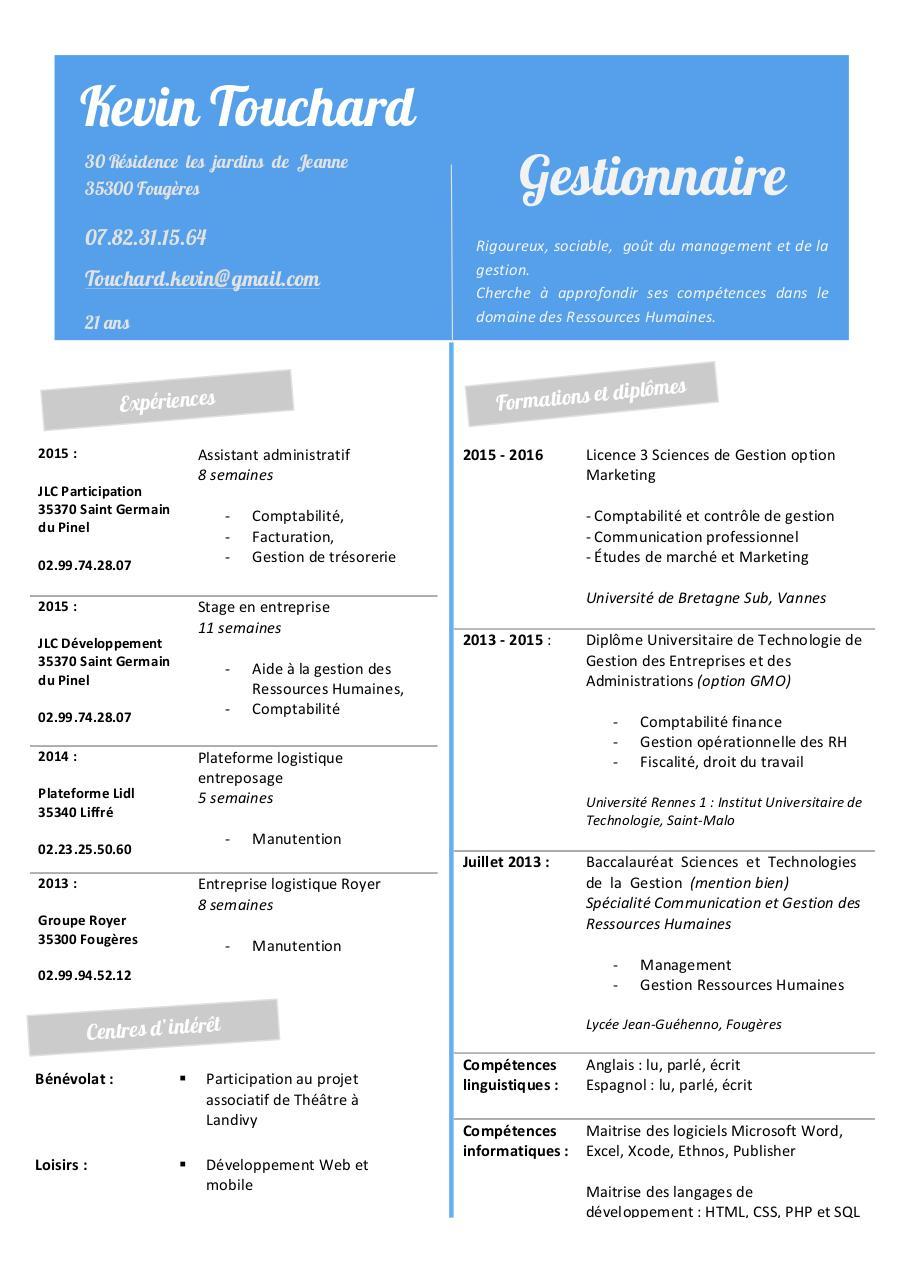 cv stylis u00e9 copie docx - cv 2015 - 2016 pdf
