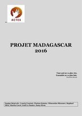 projet madagascar 2016 ete 1