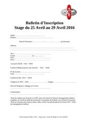 bulletin inscrip 2016