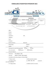 formulaire hsp