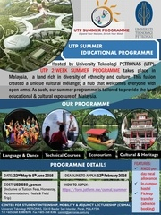 poster summer education utp malaysia