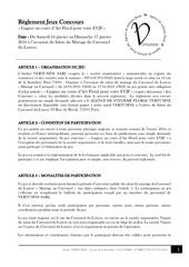 reglement vertumne salon carrousel louvre janv2016