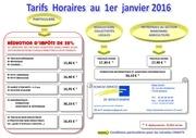 tarifs ds janvier 2016