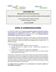 appel communication 1