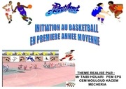 5 initiation au basket