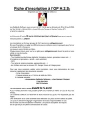 fiche d inscription h2s2