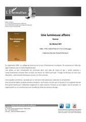 fiche promotion ouvrage