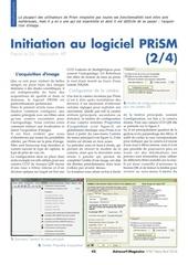 initiation a prism 2