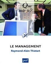 le management thiertart raymond alain