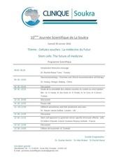 invitation journee scientifique cellules souches