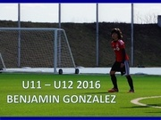 benjamin gonzalez youth player toronto fc u12