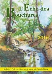 echo des bouchures 2016
