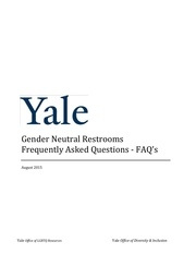 gender neutral restrooms faq s