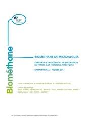 grdf etude 2 du potentiel biomethane 02 2013