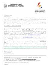 soiree info 29 01 2016