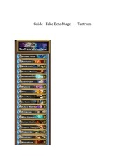 tantrum s fake echo mage
