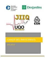 Fichier PDF cahier des participants