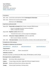 Fichier PDF cv william viret