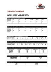 Fichier PDF el carmen spanish school 1