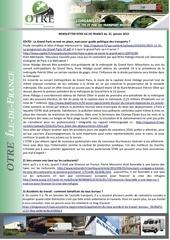 news otre idf 20 janvier 2016