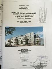 projet construction 15 r de la revolution montreuil