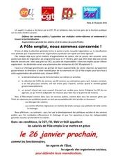 appel greve le 26 janvier