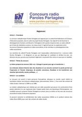 Fichier PDF reglement concours 2016