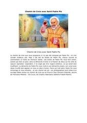 chemin de croix avec saint padre pio11111111111