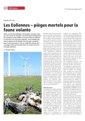 092015 eoliennes et oiseaux