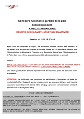2016 dossier candidature concours excep int nat