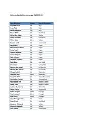 Fichier PDF liste des stagiaires retenus par carrefour pdf